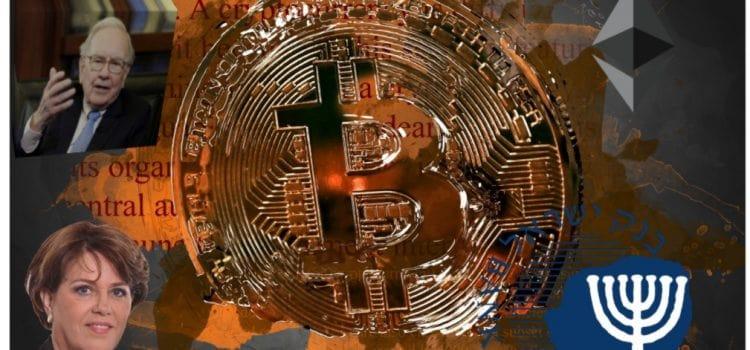 Bank of Israel: kryptoměny nejsou měny a Izraelci si stěžují na blokace převodů a Ethereum trhá rekordy