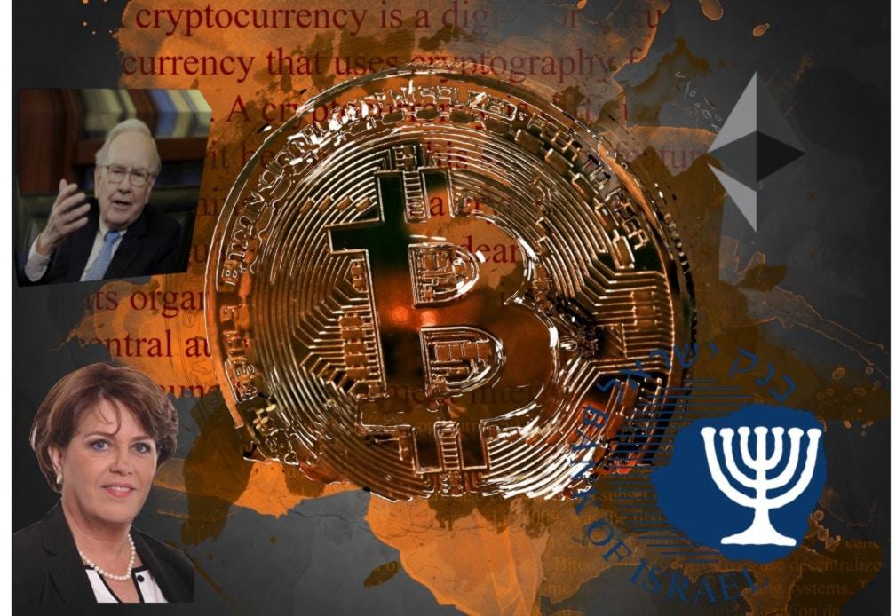 Warren Buffet,Nadine Baudot-Trajtenberg, Bitcoin, Bank of Israel, Ethereum