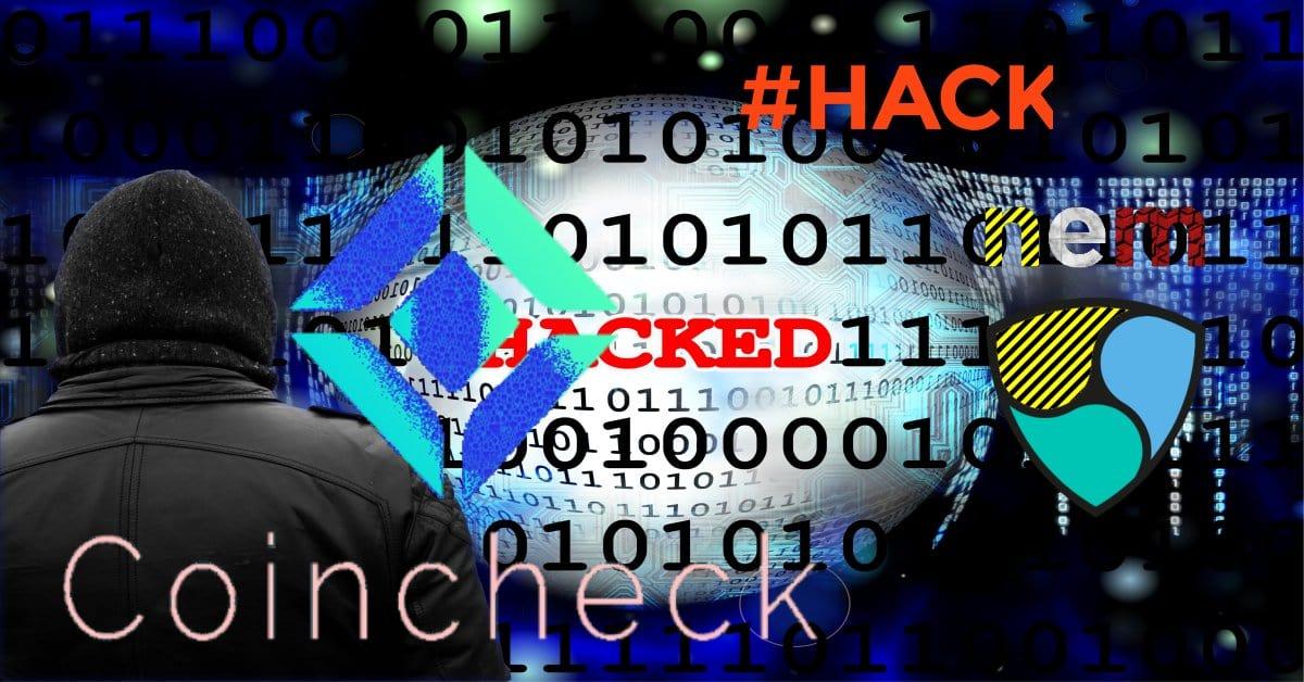 Japonská kryptoburza Coincheck byla hacknuta, hackeři ukradli přes půl miliardy dolarů v kryptoměně NEM