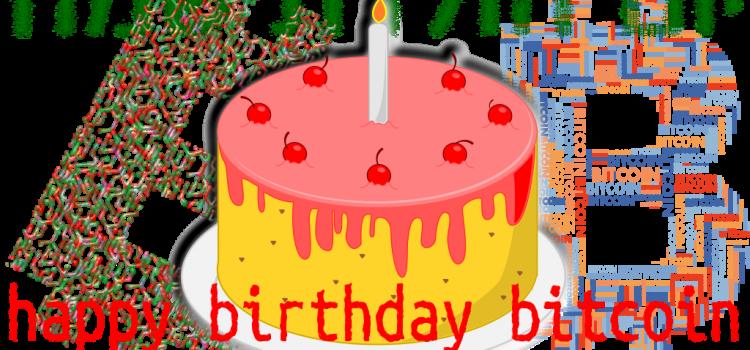 Popřejte bitcoinu vše nejlepší k 9. narozeninám!
