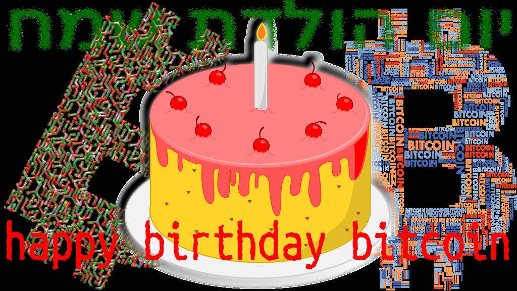 happy birthday bitcoin