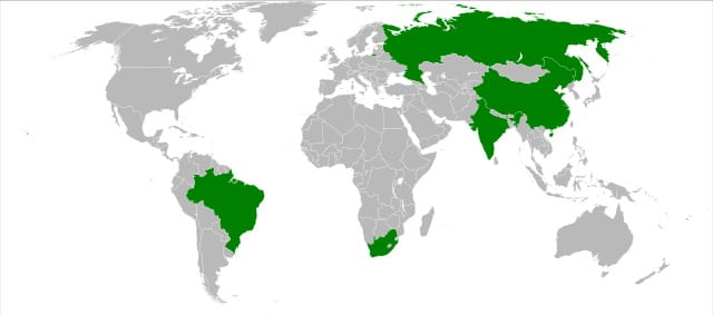 Map of BRICS countries.svg