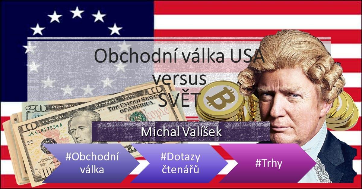 Obchodní válka USA vs svět