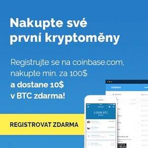 Coinbase - jednoduchá směnárna kryptoměn s povedenou android aplikací